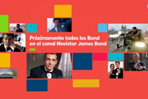 James Bond Movistar+