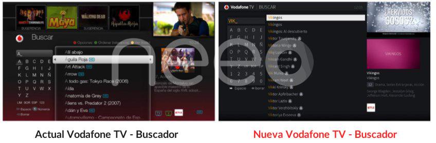 Vodafone 4K Buscador