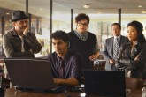 ?¢¬?¬?Pilot?¢¬?¬ù -- SCORPION, inspired by a true story, is a high-octane drama about eccentric genius Walter O?¢¬?¬?Brien (Elyes Gabel) and his team of brilliant misfits who comprise the last line of defense against high-tech, complex threats of the modern age. At last, these nerdy masterminds have found the perfect job: a place where they can apply their exceptional brainpower to solve the nation?¢¬?¬?s crises, while also helping each other learn how to fit in.  Pictured left to right: Eddie Kaye Thomas as Toby Curtis, Elyes Gabel as Walter O?¢¬?¬?Brien, Ari Stidham as Sylvester Dodd, Robert Patrick as Federal Agent Cabe Gallo, and Jadyn Wong as Happy Quinn. Photo: Monty Brinton/CBS??¬© 2014 CBS Broadcasting, Inc. All Rights Reserved.